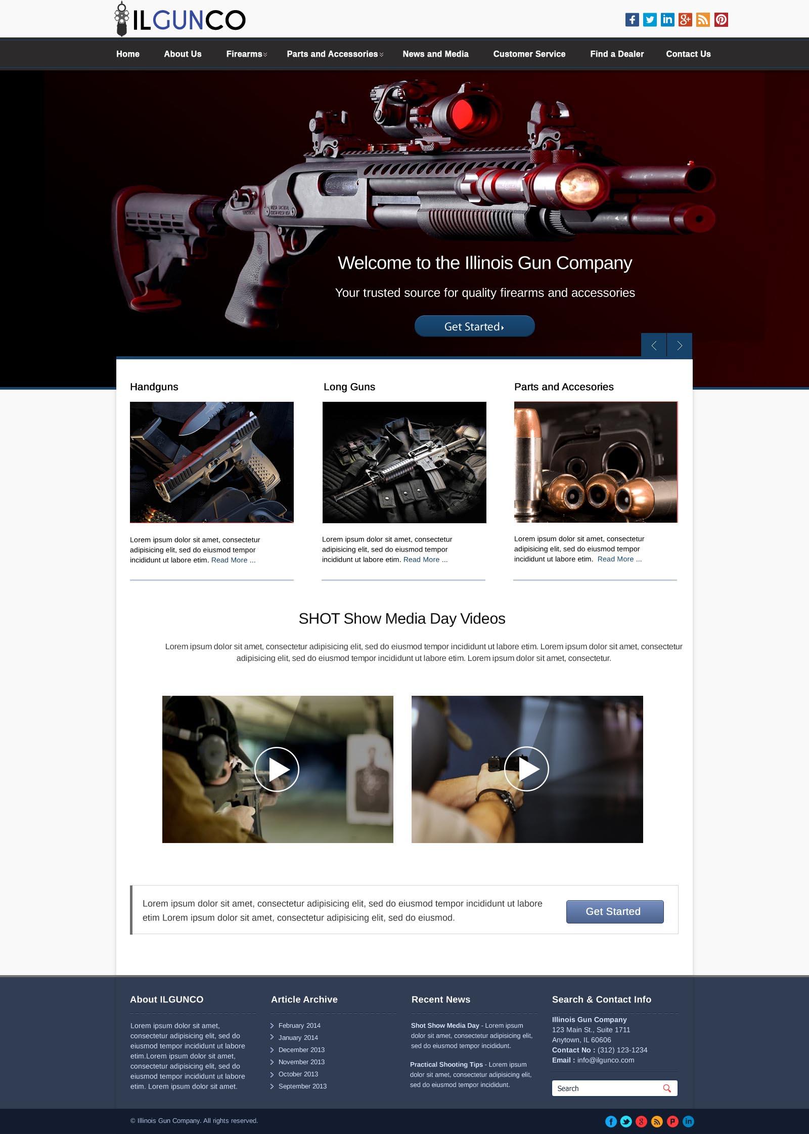 Gun shopping online